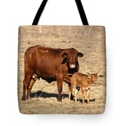 Senopol Surrogate With Calf Tote Bag by Science Source