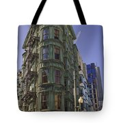 Sentinel Building - Columbus Tower American Zoetrope Tote Bag by Tim Mulina