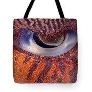Sepia Cuttlefish Tote Bag