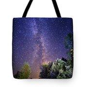 September Night Sky Tote Bag
