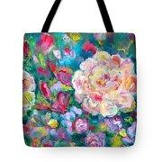 Serendipity Floral Tote Bag