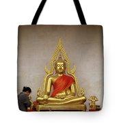 Serene Buddha Tote Bag