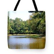 Serene Lake In September Tote Bag