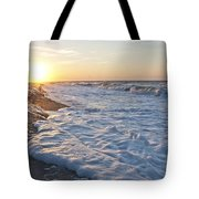 Serene Sunrise Tote Bag