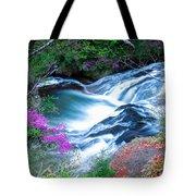 Serenity Flowing Tote Bag