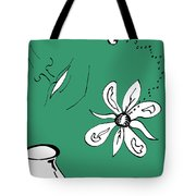 Serenity In Green Tote Bag