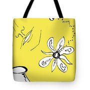 Serenity In Yellow Tote Bag