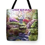 Serenity Tote Bag by Irina Sztukowski