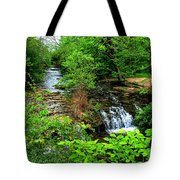 Serenity With Frame Tote Bag