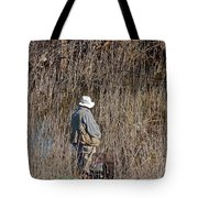 Serious Fisherman Tote Bag