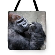 Serious Look Tote Bag