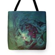 Serpent Head Tote Bag