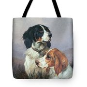Setters On A Moor Tote Bag by Colin Graeme