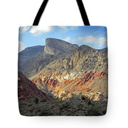 Setting Desert Sun Tote Bag