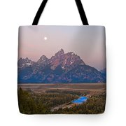 Setting Moon Tote Bag
