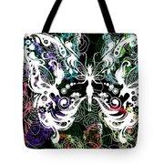 Seven Butterflies Tote Bag