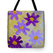 Seven Flowers Tote Bag