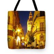 Sevilla At Night Tote Bag