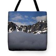 Seward Mountain Range Tote Bag