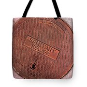 Sewer Cover Tote Bag