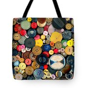 Sewing - Buttons - Bunch Of Buttons Tote Bag