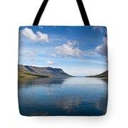 Seydisfjordur Fjord Tote Bag