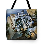 Sf Hyatt Outside Tote Bag