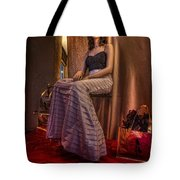 Shabby Genteel Red Tote Bag