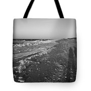 Shackleford Beach Morning Tote Bag