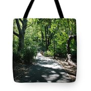Shaded Paths In Central Park Tote Bag