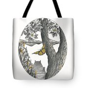 Shades Of Magnolia Tote Bag