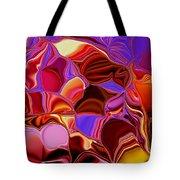 Shades Of Satin Tote Bag