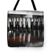 Shadow Bridge  Tote Bag