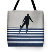 Shadow Walking The Stairs Tote Bag