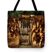 Shadowed Door Tote Bag