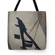 Shadowing Me Tote Bag