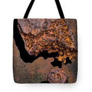 Shadows And Rust Tote Bag