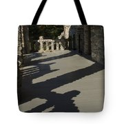 Shadows Cast On The Porch Of Gillette Tote Bag
