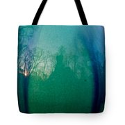 Shadows In The Eye Of The Sunset Tote Bag