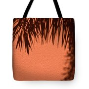 Shadows Of A Palm Tote Bag