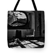 Shadows Of Roads Ahead Tote Bag