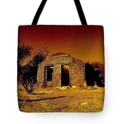 Shadows Of The Old West Tote Bag