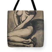 Shadows On The Sand1 - Nudes Gallery Tote Bag