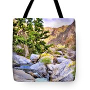 Shady Oasis Tote Bag