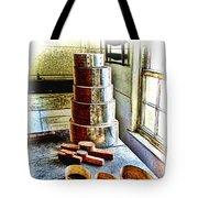 Shaker Box Making Vignette  Tote Bag