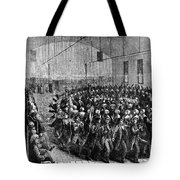 Shakers Dancing Tote Bag by Photo Researchers