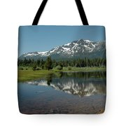 Shallow Water Reflections Tote Bag