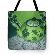 Shamrock Tea Tote Bag