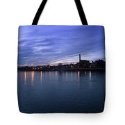 Shannon River Estuary At Limerick Tote Bag