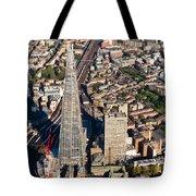 Shard London Aerial View Tote Bag